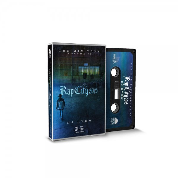 DJ RYOW / THE MIX TAPE VOLUME #2 -RAP CITY 2015- (Cassette Tape)