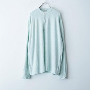 <img class='new_mark_img1' src='https://img.shop-pro.jp/img/new/icons38.gif' style='border:none;display:inline;margin:0px;padding:0px;width:auto;' />AURALEE/STRETCH LINEN JERSEY HENLEYNECK P/O(MEN)