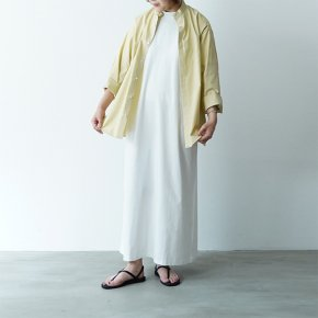<img class='new_mark_img1' src='https://img.shop-pro.jp/img/new/icons38.gif' style='border:none;display:inline;margin:0px;padding:0px;width:auto;' />AURALEE/WASHED  FINX TWILL KAFTAN SHIRTS