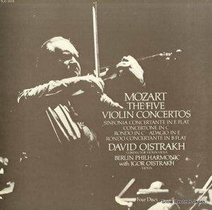 ダヴィド・オイストラフ - 特別試聴盤/モーツァルト:ヴァイオリンと管弦楽のための作品集 - TLC-1013