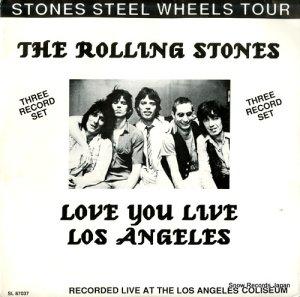 ザ・ローリング・ストーンズ - love you live los angeles - SL87037