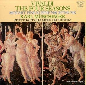 カール・ミュンヒンガー - ヴィヴァルディ:合奏協奏曲「四季」 - SLC8030