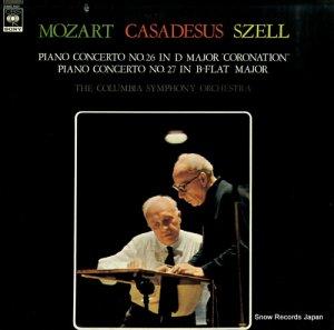 ロベール・カザドシュ - モーツァルト:ピアノ協奏第26番「戴冠式」、27番 - 23AC541