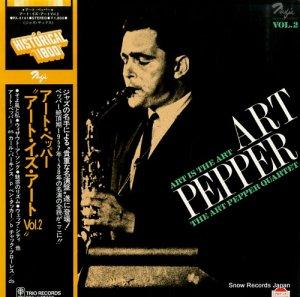 アート・ペッパー - アート・イズ・アート2 - PA-3141