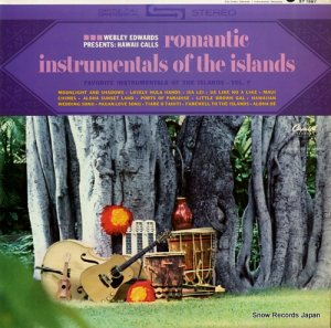 ウェブリー・エドワーズ - romantic instrumentals of the islands - ST-1987