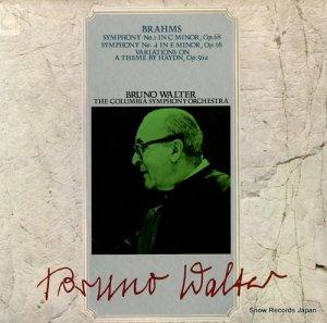 ブルーノ・ワルター - ブラームス:交響曲第1番ハ短調作品68 - SOCL178-179