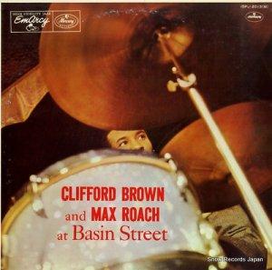 クリフォード・ブラウン&マックス・ローチ - ベイズン・ストリートのブラウン=ローチ - 15PJ-2013(M)