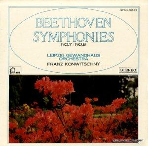 フランツ・コンヴィチュニー - ベートーヴェン:交響曲第7番、8番 - SFON-10505