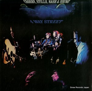 クロスビー・スティルス・ナッシュ&ヤング - 4 way street - SD2-902
