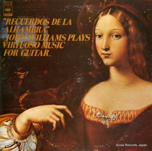 ジョン・ウィリアムス - アルハンブラ宮殿の想い出・クラシック・ギター名演集 - FCCA-26