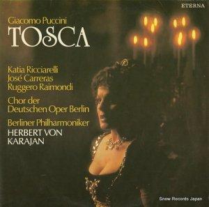 ヘルベルト・フォン・カラヤン - puccini; tosca - 827773-774