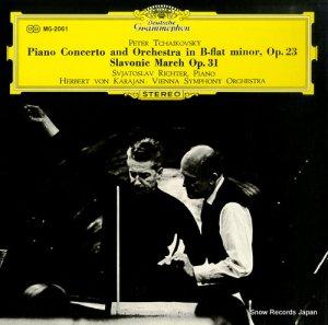 ヘルベルト・フォン・カラヤン - チャイコフスキー:ピアノ協奏曲第1番変ロ短調 - MG2061