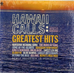 ウェブリー・エドワーズ - hawaii calls / greatest hits - SM-1339