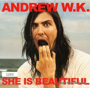 ANDREW W.K. - she is beautiful - 5889737
