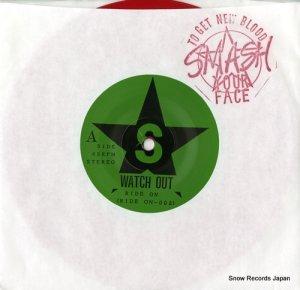 スマッシュ・ユア・フェイス - watch out - RIDEON-002