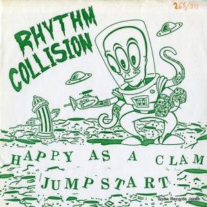 リズム・コリジョン/トラヴィス・カット - happy as a clam / no good with words - ATOM001