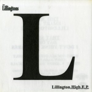 THE LILLINGTONS - lillington high e.p. - CRVW-47