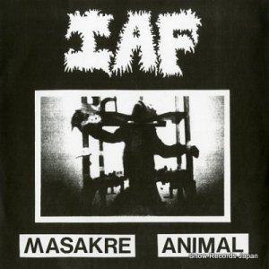 I.A.F / UNDERTHREAT - masakre animal / i.a.f - JKDR-0000001