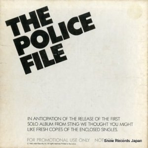 ザ・ポリス - the police file - AM-8622