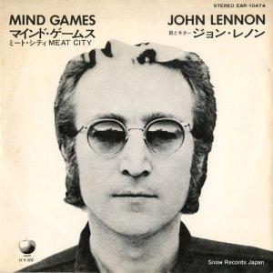 ジョン・レノン - マインド・ゲームス - EAR-10474