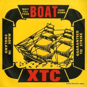 XTC - wait till your boat goes down - VS322