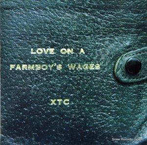 XTC - love on a farmboy's wages - VS613