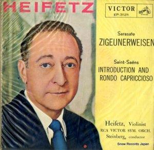 ヤッシャ・ハイフェッツ - サラサーテ:ツィゴイネルワイゼン - EP-3125