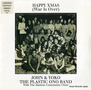 ジョン&ヨーコ(プラスティック・オノ・バンド) - happy xmas(war is over) - 724355367471,R6627