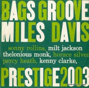 マイルス・デイヴィス - バグス・グルーブ(テーク1) - MJ-2003