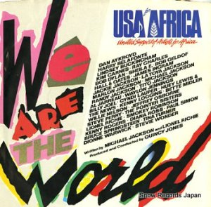 USA FOR AFRICA - we are the world - US7-04839