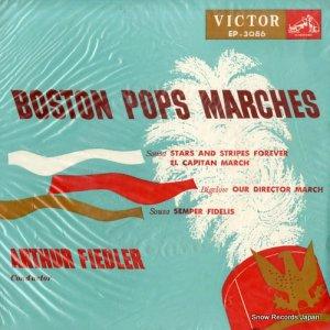 アーサー・フィードラー - ボストン・ポップス・マーチ集 - EP-3086