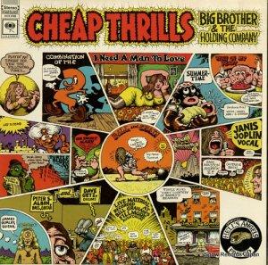 ビッグ・ブラザー&ザ・ホールディング・カンパニー - cheap thrills - KCS9700