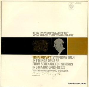 ヴィルヘルム・フルトヴェングラー - チャイコフスキー:交響曲第4番ヘ短調作品36 - AB.8038
