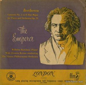 ウィルヘム・バックハウス - ベートーヴェン:ピアノ協奏曲第5番変ホ長調作品73「皇帝」 - LLA10006