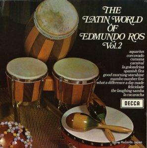 エドムンド・ロス - the latin world of edmundo ros vol.2 - SPA-59