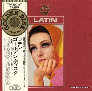 コマンド・オール・スターズ - ラテン・ゴールデン・ディスク - IPP-95065B