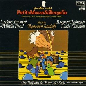 ロマーノ・ガンドルフィ - rossini; petite messe solennelle - SDD567/8