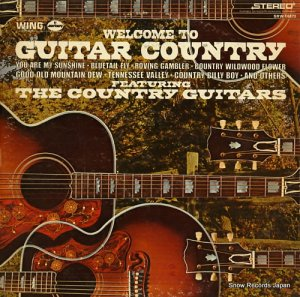 ザ・カントリー・ギターズ - welcome to guitar country - SRW16373 (#107582)