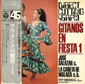 ホセ・サラサール - フラメンコの饗宴1 - 45PX-2010-AX