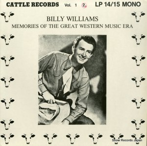 ビリー・ウィリアムズ - memories of the great western music era vol.2 - LP15 (#107961)