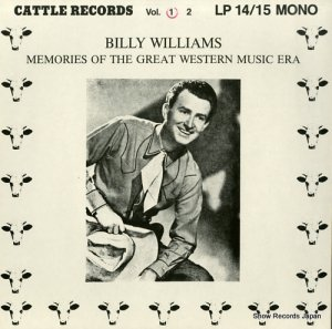 ビリー・ウィリアムズ - memories of the great western music era vol.1 - LP14 (#107962)