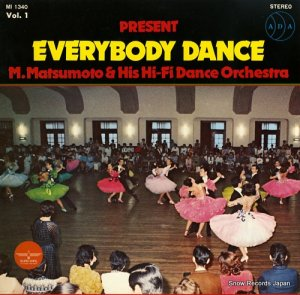 松本正明 - everybody dance - MI1340