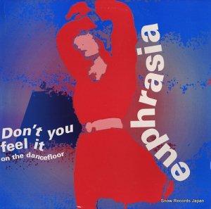 ユーラシア - don't you feel it on the dancefloor - G-003-12