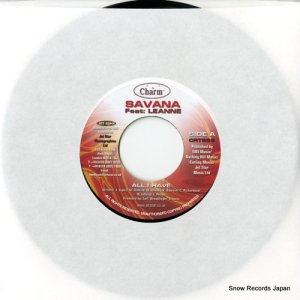 SAVANA - all i have - CRT965