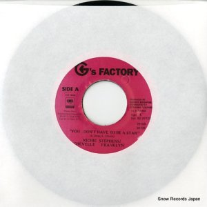 STEPHENS, RICHIE / CHEVELLE FRANKLYN - you don't have to be a star - GF004