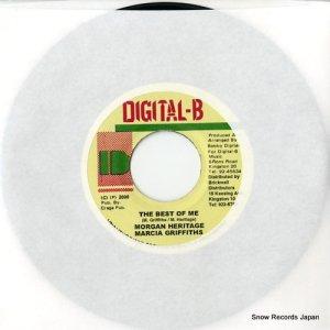 モーガン・ヘリテイジ/マーシャ・グリフィス - the best of me - DSRASIDE-7901