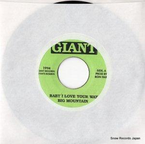 ビッグ・マウンテン - baby i love your way - 013-LYNCH / 014-LYNCH