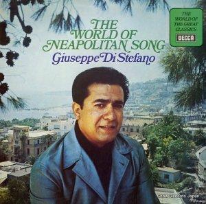 ジュゼッペ・ディ・ステファーノ - the world of neapolitan song - SPA313