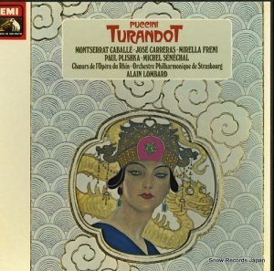 アラン・ロンバール - puccini; turandot - 2C167-03282/4