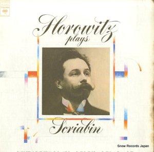 ウラディミール・ホロヴィッツ - horowitz plays scriabin - M31620
